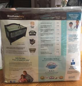 Breathable Crib Bumper Pads