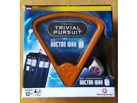 Dr Who Trivial Pursuit