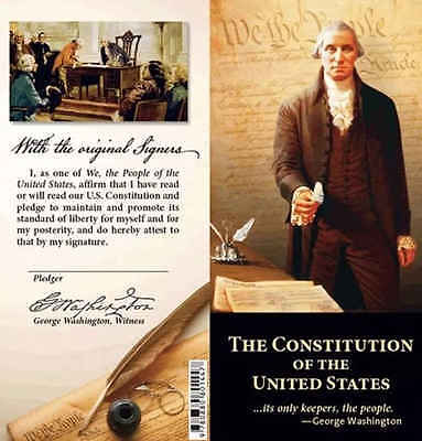 Pocket Size Constitution Bill Of Rights Declaration Of Independence New
