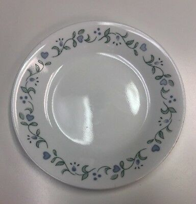 Corelle ~ COUNTRY COTTAGE ~ BREAD/SALAD PLATE ~ Blue Hearts
