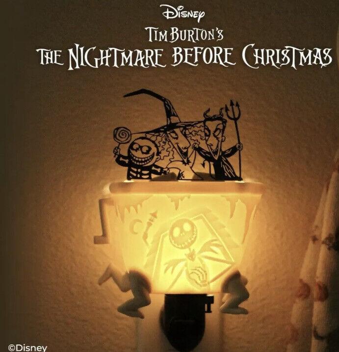 Scentsy Disney Nightmare Before Christmas  warmer Halloween Lock Shock & Barrel