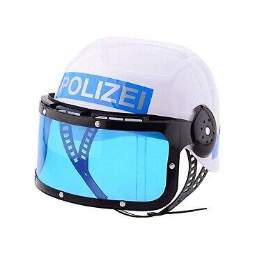 Kinder Polizei-Helm Polizei Helm Fasching Verkleiden Feier