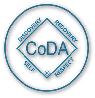 Co-Dependents Anonymous (CoDA group meeting Tuesday evenings)