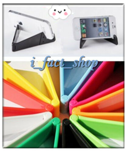 2 PCS Universal Desk Portable Foldable Stand Holder Cradle For iPhone Samsung IF