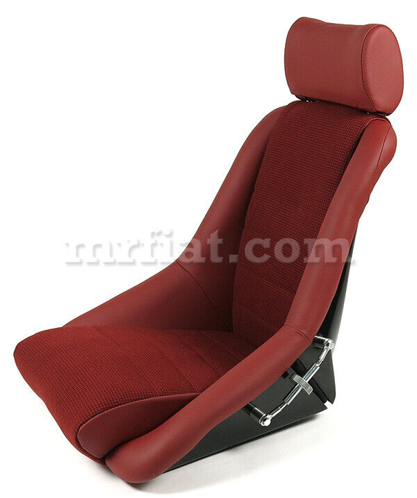 For Porsche 911 Rs Sport Red Leather Houndstooth Seat New