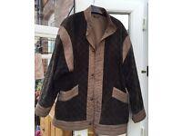 Ladies Reversible Beige Jacket size 14
