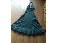 Formal dress green size 6 by warehouse