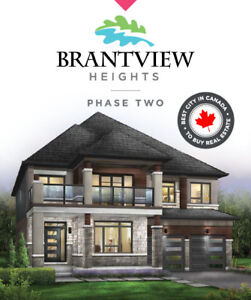 PRE-CONSTRUCTION TOWNS AND SINGLES IN BRANTFORD.