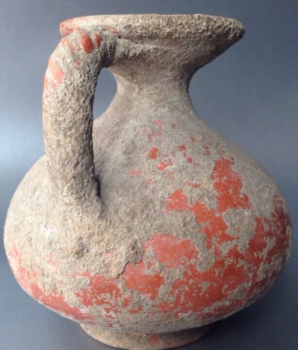 Roman Terra Sigilata Orangeware Jug 1st - 3rd Century A.D.