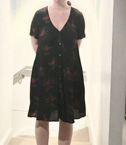 Black dress with roses Alexandria Inner Sydney Preview