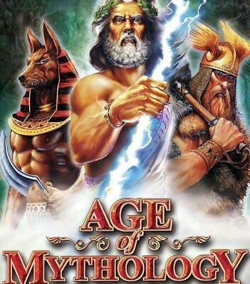 Computer Games - Age Of Mythology PC Games Windows 10 8 7 XP Computer strategy rts empires