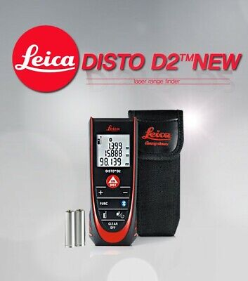 New Genuine Leica Disto D2 The Original Laser Distance Meter Automatic