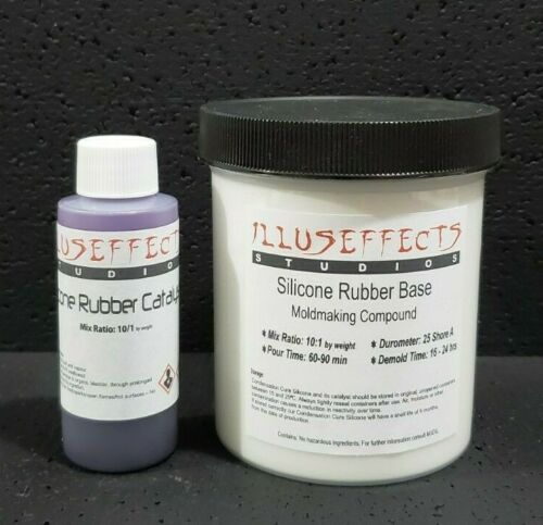 High Strength RTV Silicone Rubber Mold Making Compound - 8oz - Purple