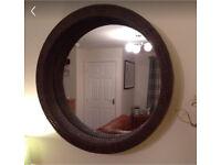 Mirror - Porthole Wicker
