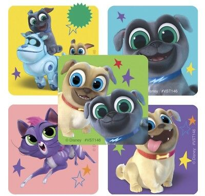 25 Puppy Dog Pals  Stickers Party Favors  Teacher rewards Bingo Hissy Rolly
