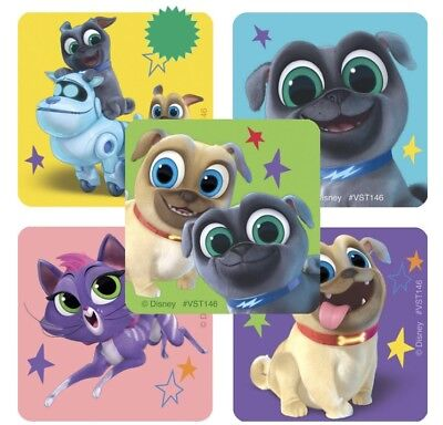25 Puppy Dog Pals  Stickers Party Favors  Teacher rewards Bingo Hissy Rolly - Puppy Party Supplies