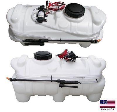 Sprayer Atv Utv - 1 Gpm - 30 Psi - 15 Gallon Tank - 12vdc Diaphram Pump