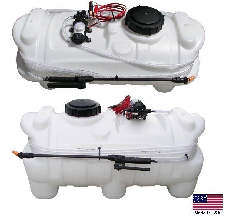 SPRAYER ATV / UTV - 1.8 GPM - 100 PSI - 15 Gallon Tank - 12VDC Diaphragm Pump