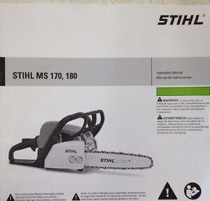 Stihl ms170 repair Manual