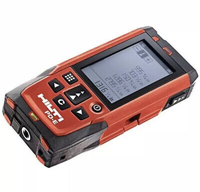Hilti Upc 2062051 Pd-e Laser Range Meter With Hand Strap And Case