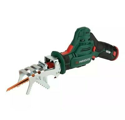 Parkside 12v Cordless Branch Saw Garden Patio Tree Cut Trimmer Pruner & Cary Box