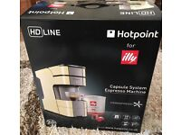 Hotpoint for Illy HD LINE espresso coffee machine NEW & UNUSED BOXED RRP £119.99