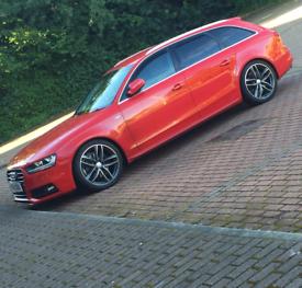 Audi A4 TFSI Estate 2013 px swap