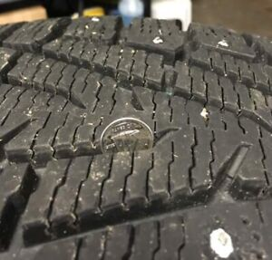 NOKIAN Studded Winter Tires.