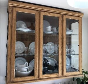 Display Cabinet / Hutch - Solid Wood