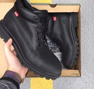 Men's carbon timberland size 10.5 with og box