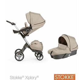 STOKKE XPLORY - 3 piece set inc car seat