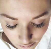 Eyelash extensions 50% off !