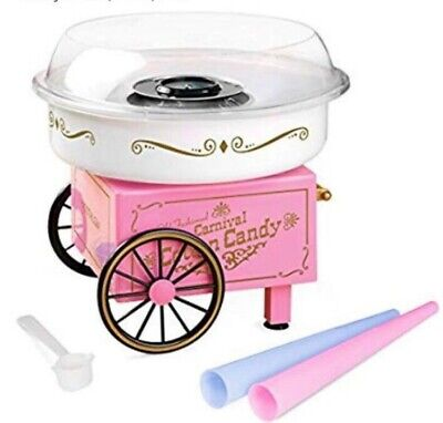 Cotton Candy Machine Maker Free Kids Party Carnival Home Sugar