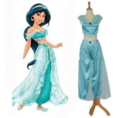 Disney Prinzessin Jasmine Frauen Aladdin Cosplay Anzüge Mädchen Hose - Aladdin Kostüm Frauen
