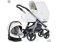 Bebecar Travel System in Snow White limited edition