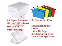 A4 Paper Printing Paper Office Supplies Files