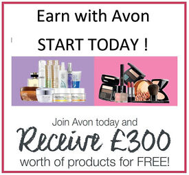 Avon, Part time, Full Time, Work from Home, Brochures, Party Plan, Weekend work