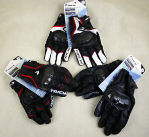* Brand New TAICHI Motorcycle Gloves * 3 Diff Colours * L & XL *