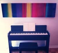 Cours de piano débutant (Plateau Mont-Royal)