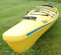 NECKY TORNAK 15' KAYAK (PADDLE & SKIRT INCLUDED)