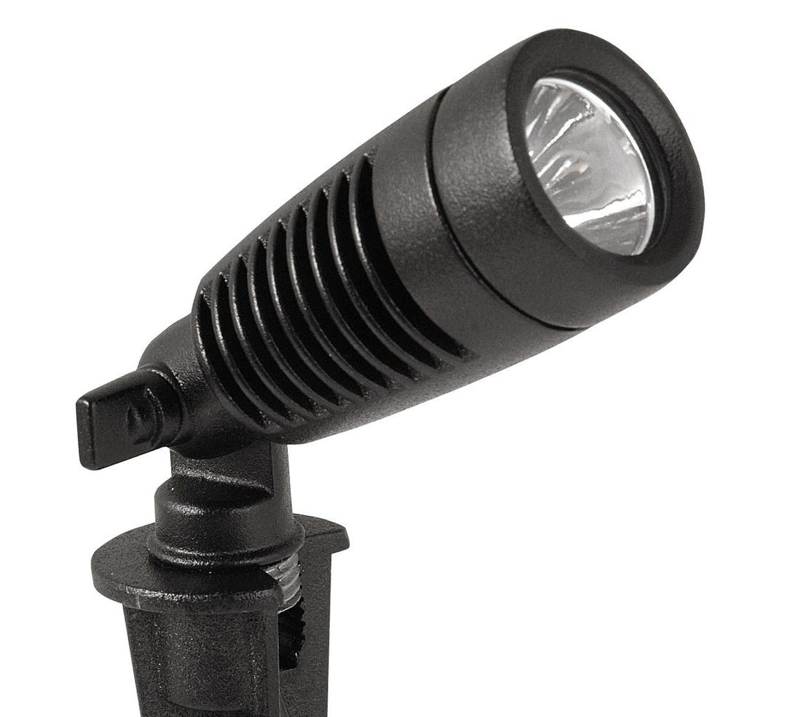 COLEMAN CABLE INC LED Spot Light, Low-Voltage, Metal, 2-Pk.