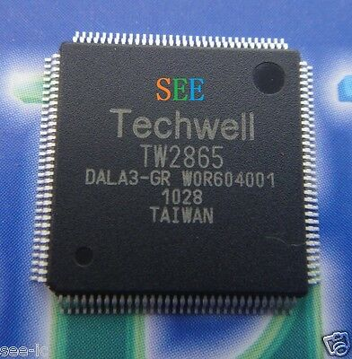 Brand New Techwell Tw2865 Dala3 Gr  Tw2865 Qfp Chipset Graphic