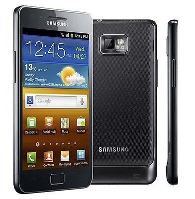 """NEW Unlocked Samsung Galaxy S II i9100 16GB 8MP 4.3"""" GP[S Smartphone Black"""