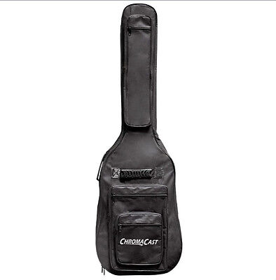 ChromaCast Bass Guitar 6-Pocket Padded Gig Bag Fits Most Electric Bass Guitars on Rummage
