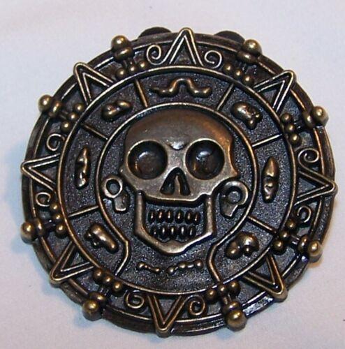 Disney Pirate of Caribbean Skull Pin-Halloween Pin-Signed Disney 2008
