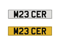 M23 CER – MERCER - Price Includes DVLA Fees - Cherished Personal Private Registration Number Plate