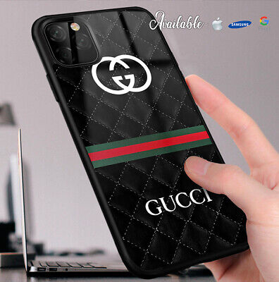 New Case For iPhone 6 X XR XS Guccy01rCases 11 Pro Max Samsung Galaxy S10black3
