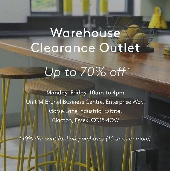 Warehouse Clearance Outlet Furniture Homeware