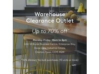 Warehouse Clearance Outlet - Furniture & Homeware
