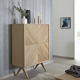 "Bethan Gray for john lewis ""Newman""Large 4 Door Sideboard rrp £999"
